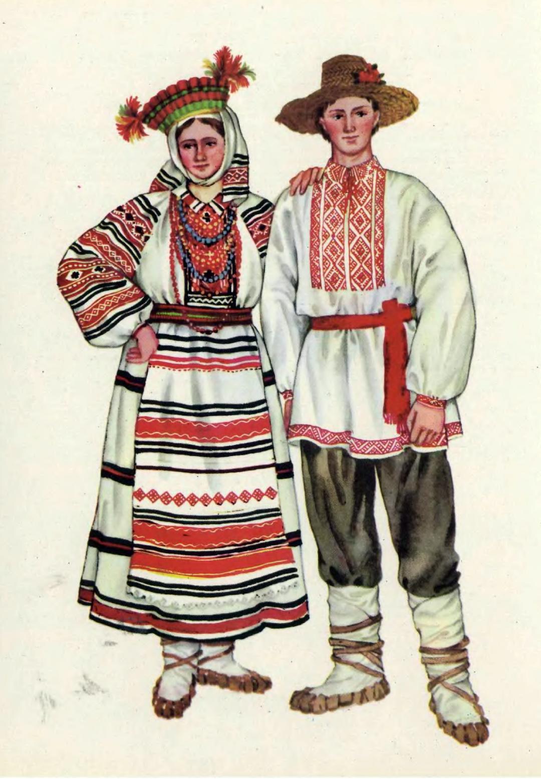 Старовинний український одяг картинки 24 фотография