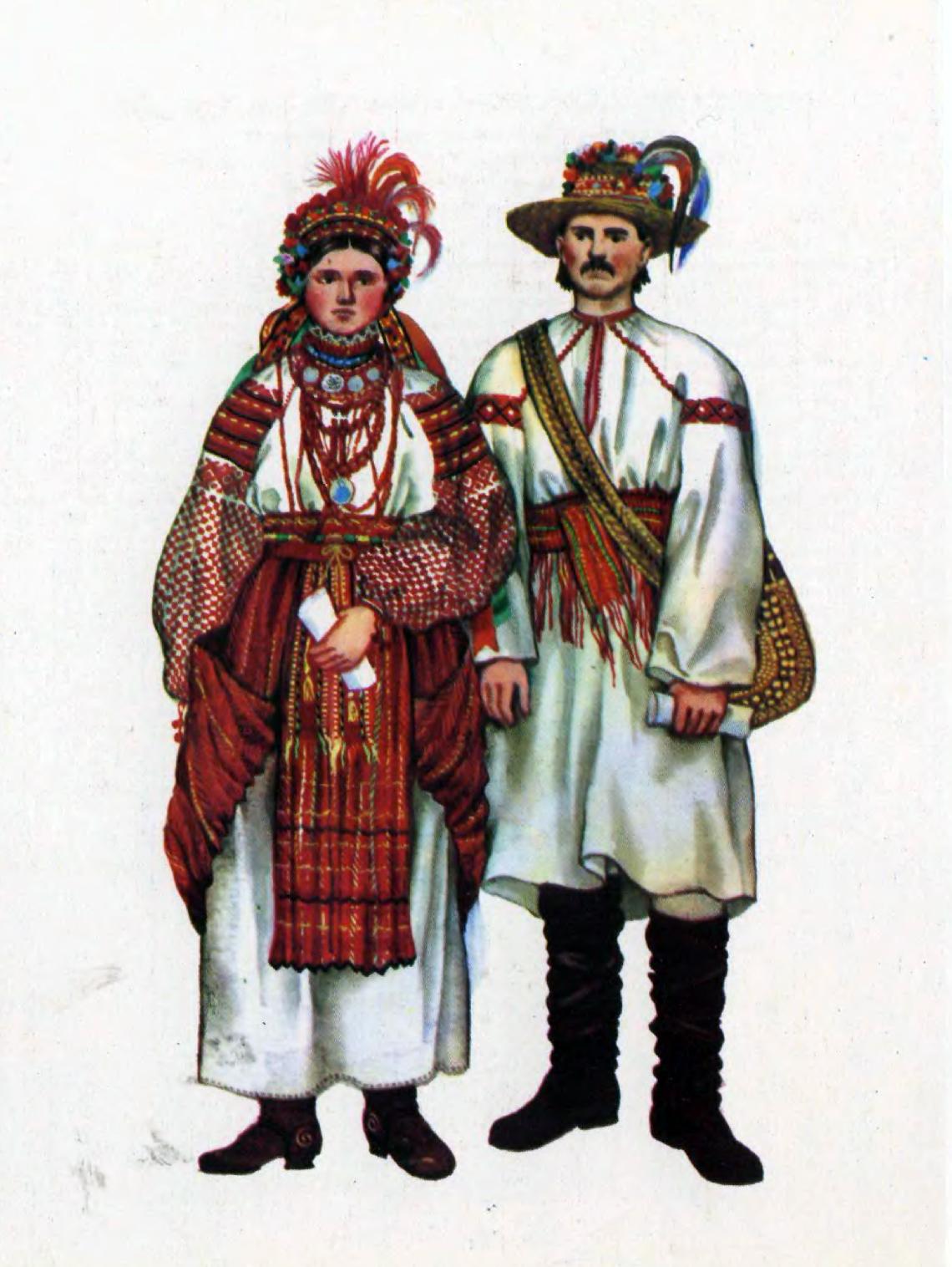 Старовинний український одяг картинки 22 фотография