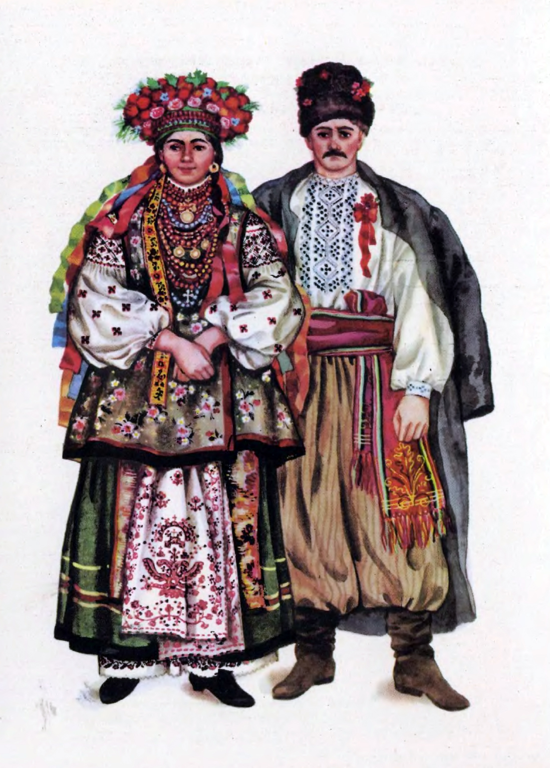 Старовинний український одяг картинки 27 фотография