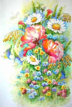 Символіка квітів - Символіка - Про Україну