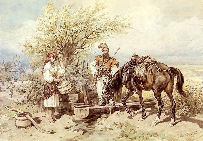 кінь символ