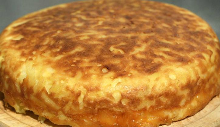 Торт картопляний