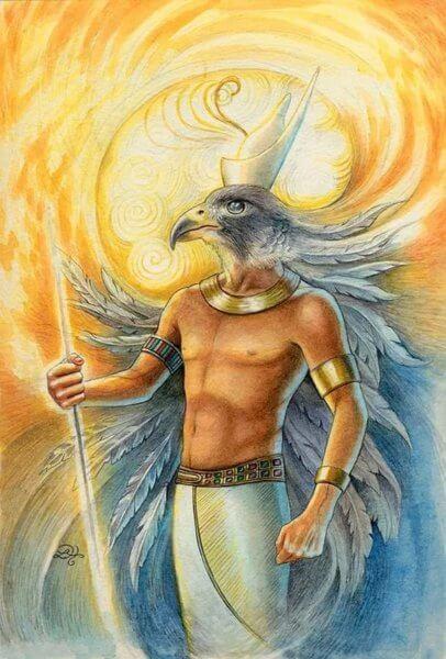бог Гор Сокіл