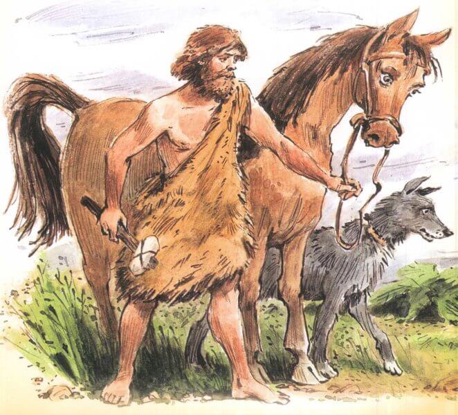 історія одомашнювання коней