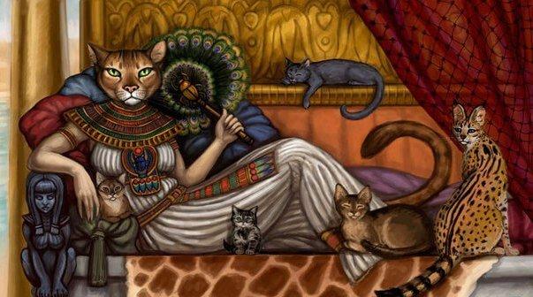 кішка- богиня Бат