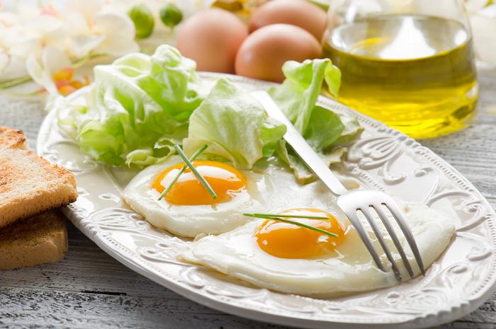 Приготування страв з яєць